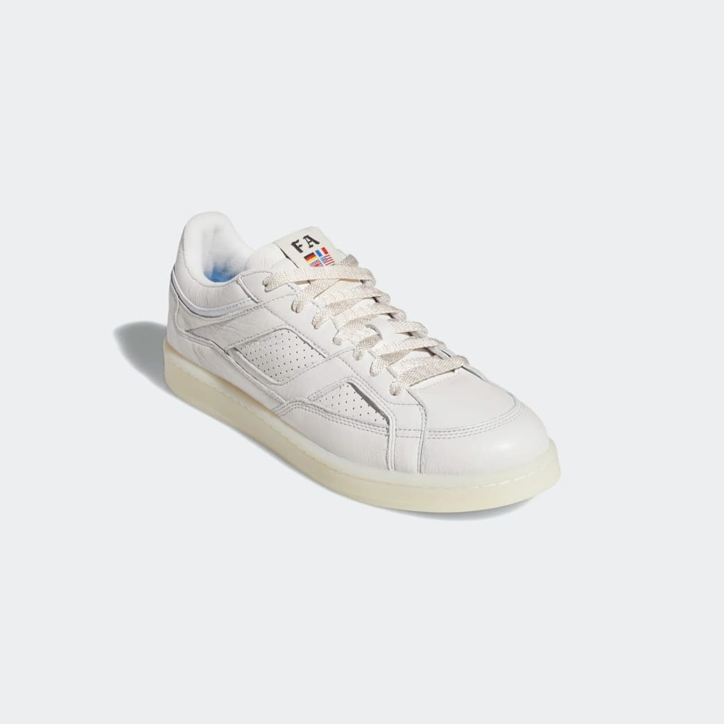 adidas Skateboarding FA Experiment 2 Shoes - Crystal White / Chalk White / Gold Metallic | Shoes by adidas Skateboarding 5