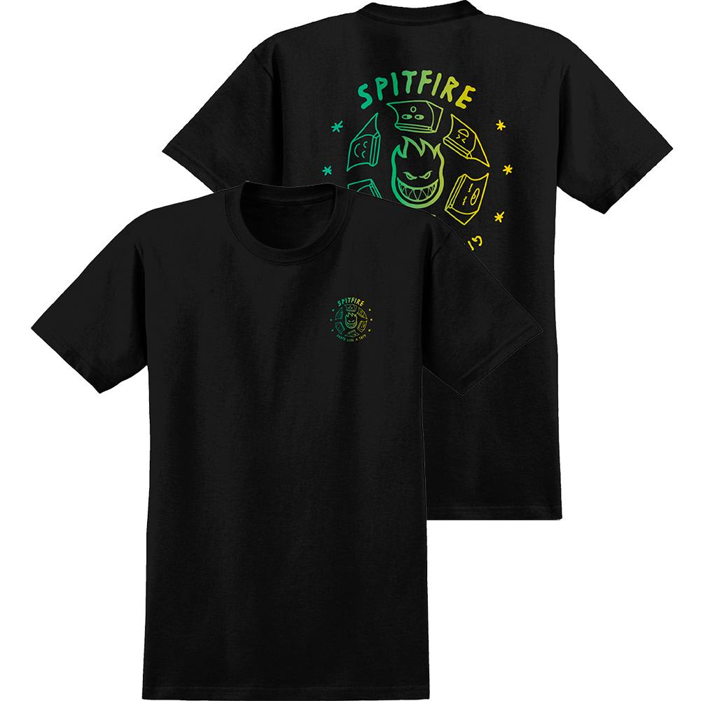 Spitfire X Skate Like A Girl Fade T-Shirt | T-Shirt by Spitfire Wheels 1