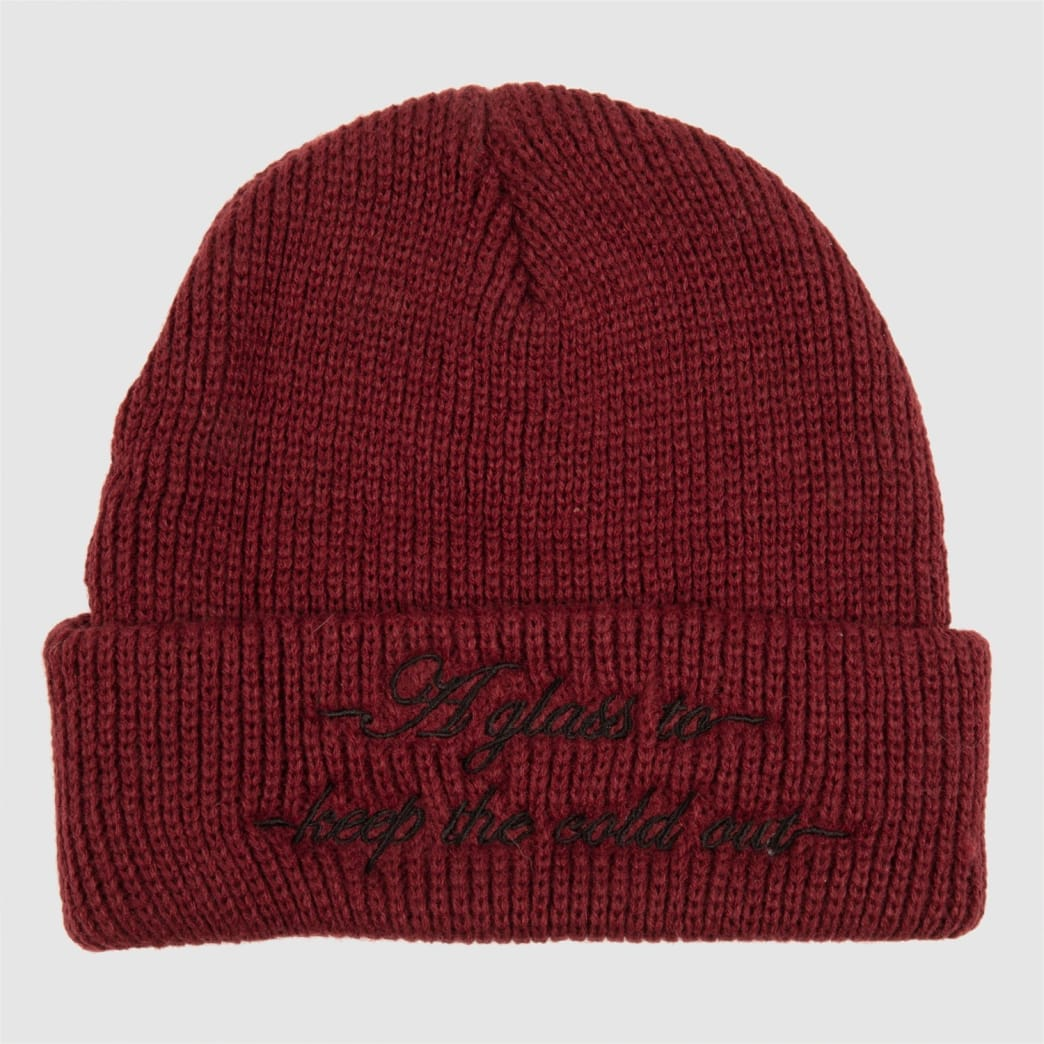 Pass~Port Cold Out Beanie - Burgundy   Beanie by Pass~Port Skateboards 2