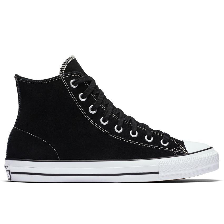 Converse Chuck Taylor All Star Pro High Top Shoes - Black/Black/White - Suede | Shoes by Converse Cons 1