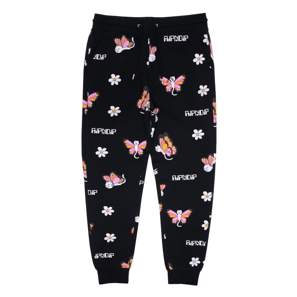 RipnDip Butterfly Sweat pants | Sweatpants by Ripndip 1