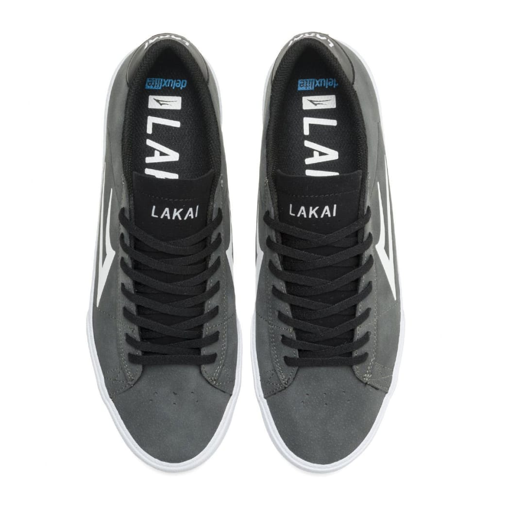 Lakai Newport Shoes - Charcoal Synthetic | Shoes by Lakai 2