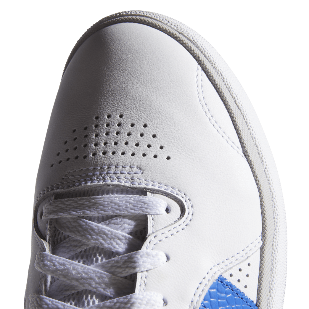 adidas Tyshawn Jones Skate Shoes - Cloud White / Blue / Gold Metallic | Shoes by adidas Skateboarding 8