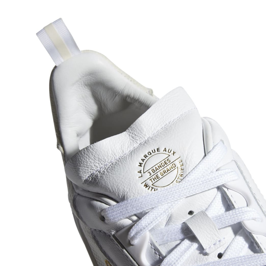 adidas Liberty Cup Skateboarding Shoe - Cloud White/Gold Metallic/Gum | Shoes by adidas Skateboarding 9