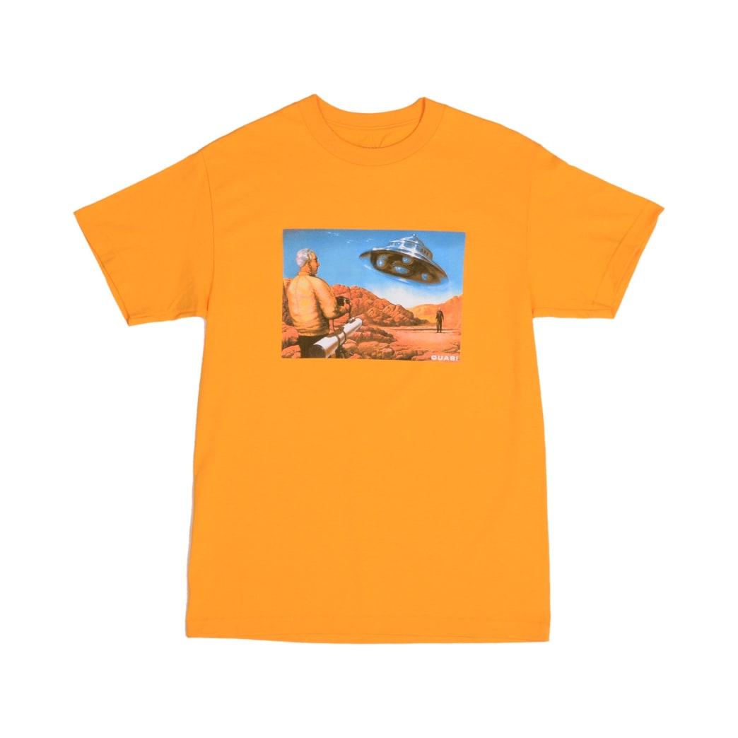 Quasi UFO T-Shirt - Gold | T-Shirt by Quasi Skateboards 1