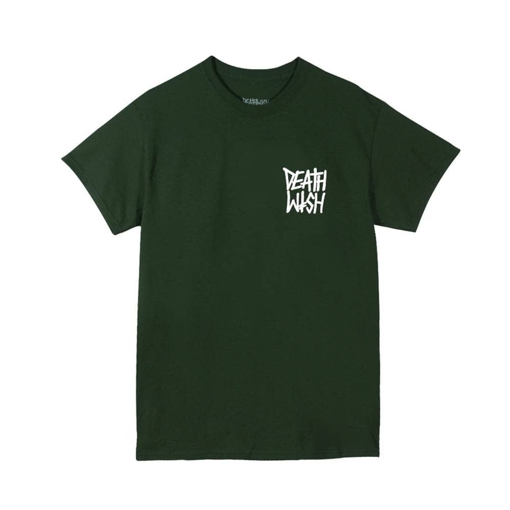 Deathwish Skateboards The Truth T-Shirt - Forest Green/White | T-Shirt by Deathwish 1