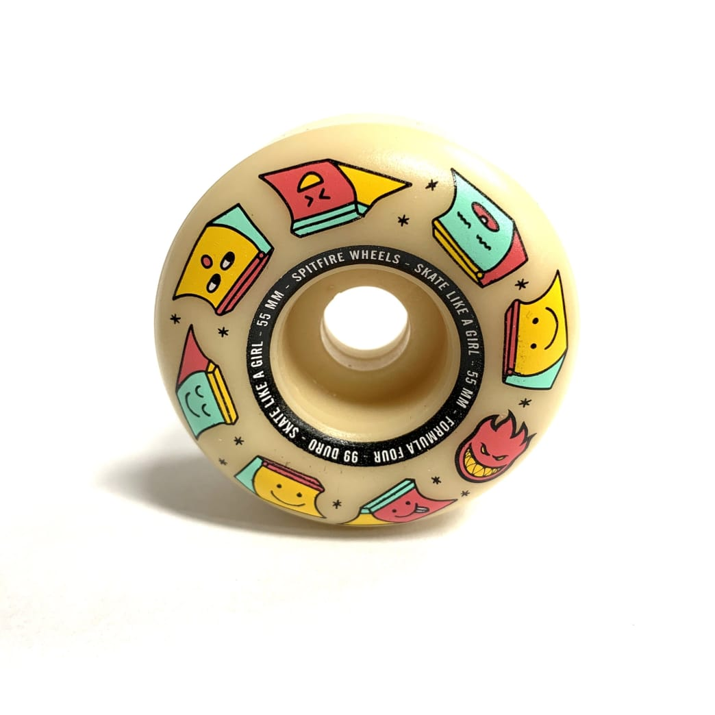 Spitfire Wheels Formul Four Skate Like a Girl Edition 55mm 99a | Wheels by Spitfire Wheels 1