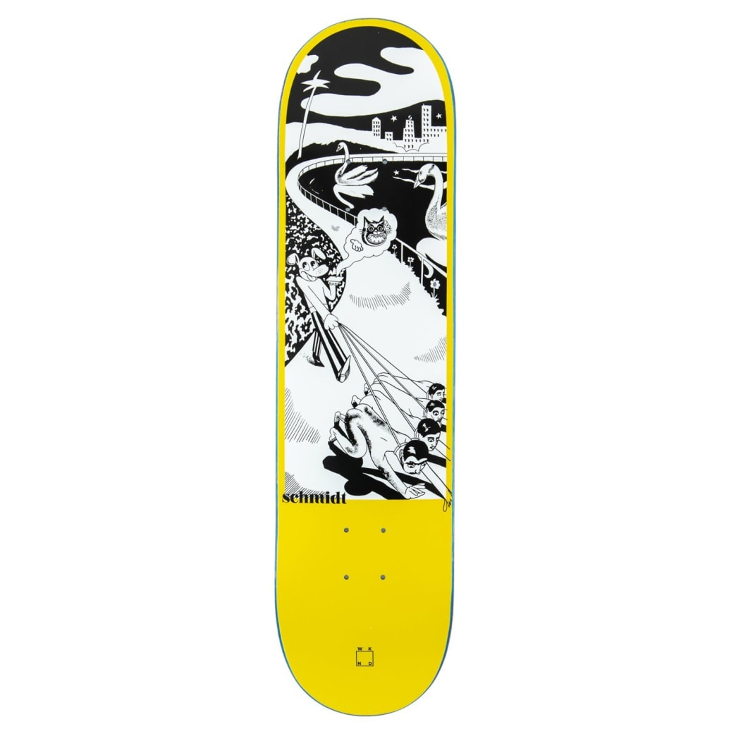 "WKND ""Dog, Walking"" Alex Schmidt Skateboard Deck - 8"" | Deck by WKND 1"
