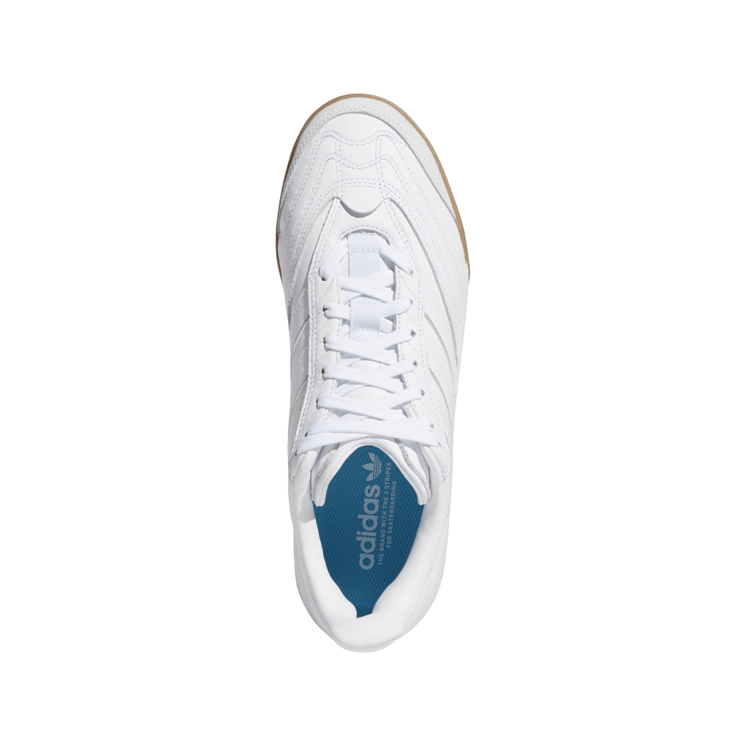 adidas Copa Nationale Skate Shoe - FTWR White / Silver Met / Gum | Shoes by adidas Skateboarding 2
