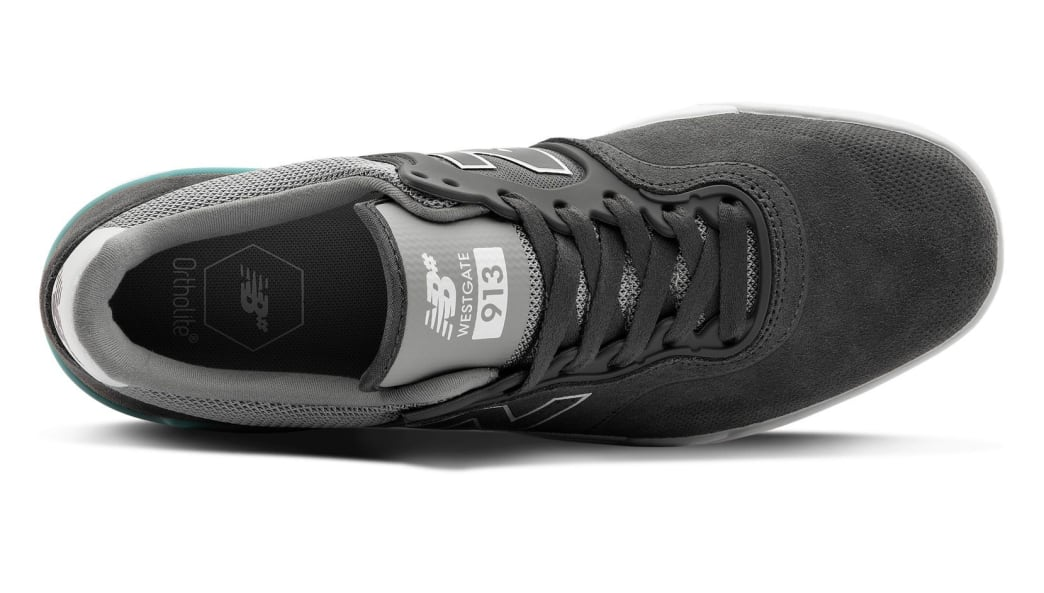 New Balance Numeric 913 Skate Shoes - Grey / White   Shoes by New Balance 3