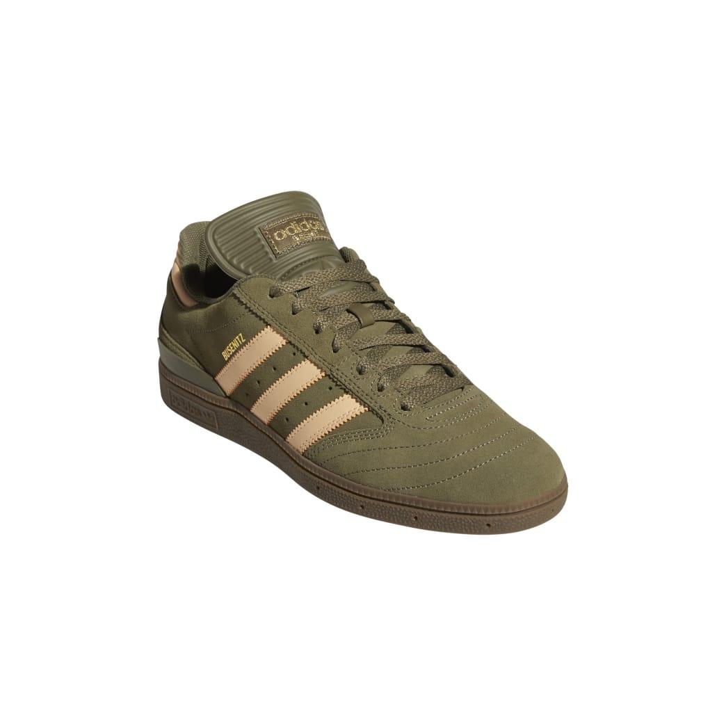 Adidas Busenitz Pro Skateboarding Shoes - Raw Khaki/Glow Orange/FTWR White | Shoes by adidas Skateboarding 5