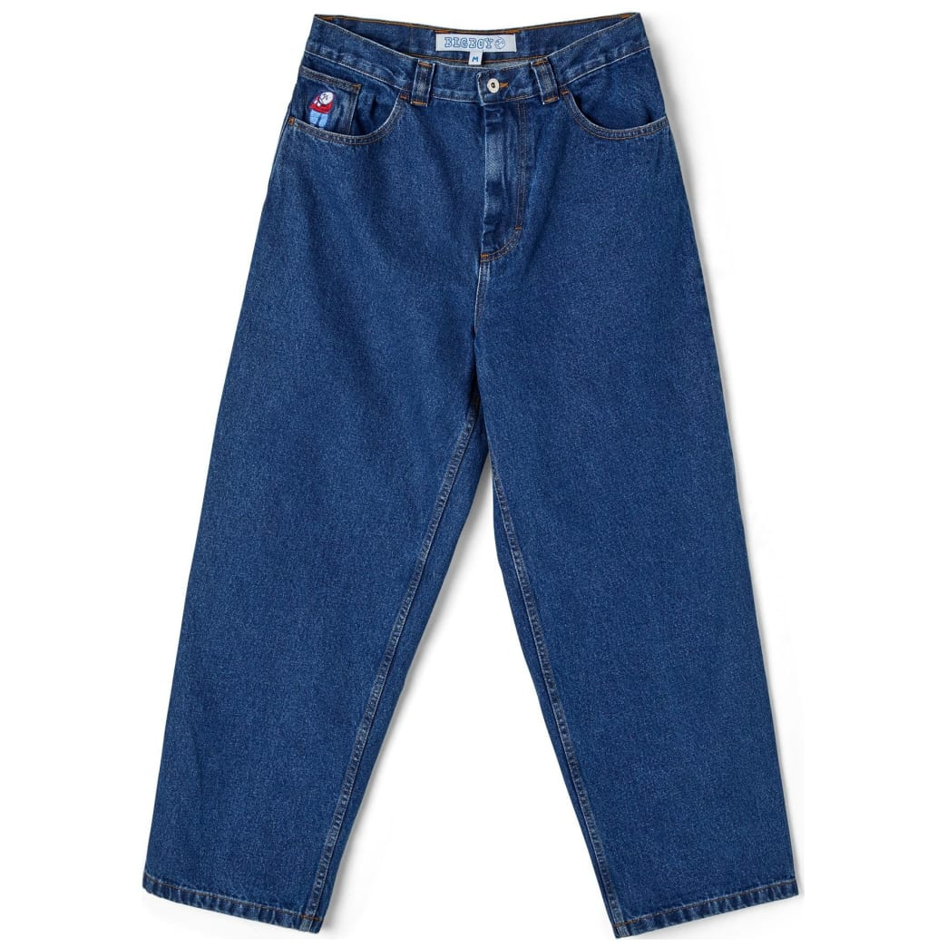 Polar Skate Co Big Boy Jeans - Dark Blue | Jeans by Polar Skate Co 1