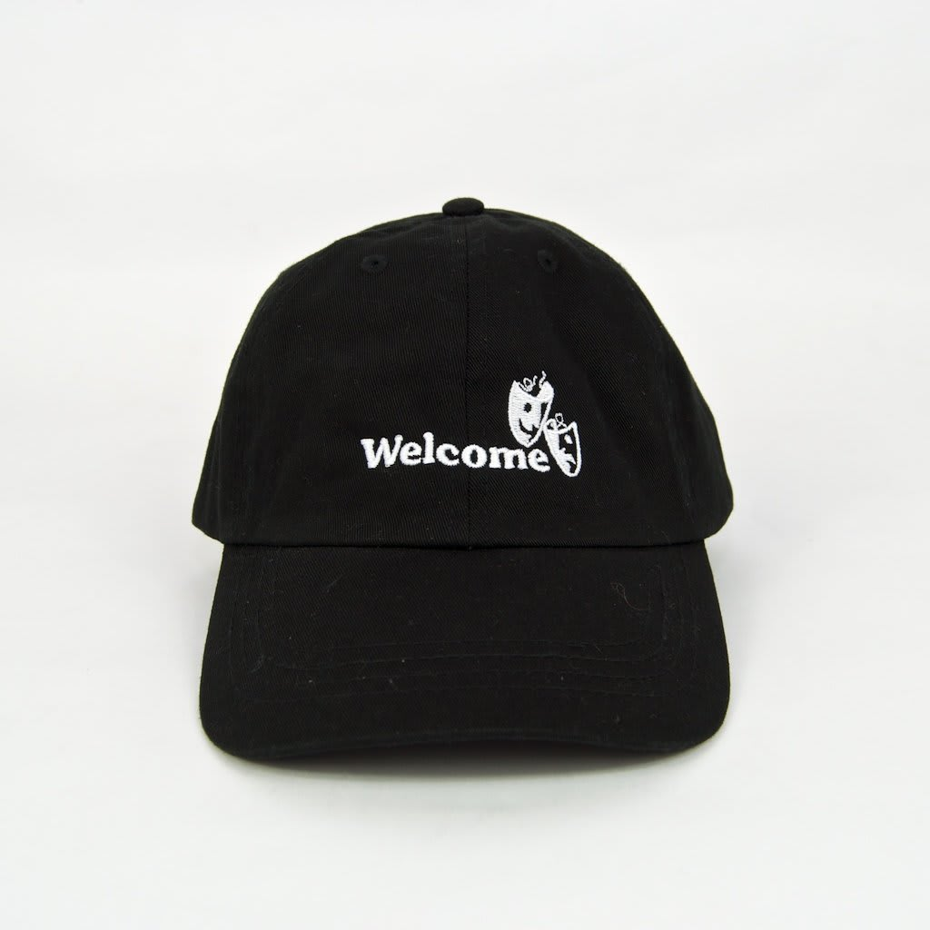 Welcome Skate Store - Drama Cap - Black | Baseball Cap by Welcome Skate Store 2