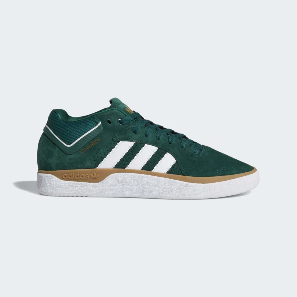 adidas Tyshawn Jones Shoes - Collegiate Green/Cloud White/Gum | Shoes by adidas Skateboarding 1