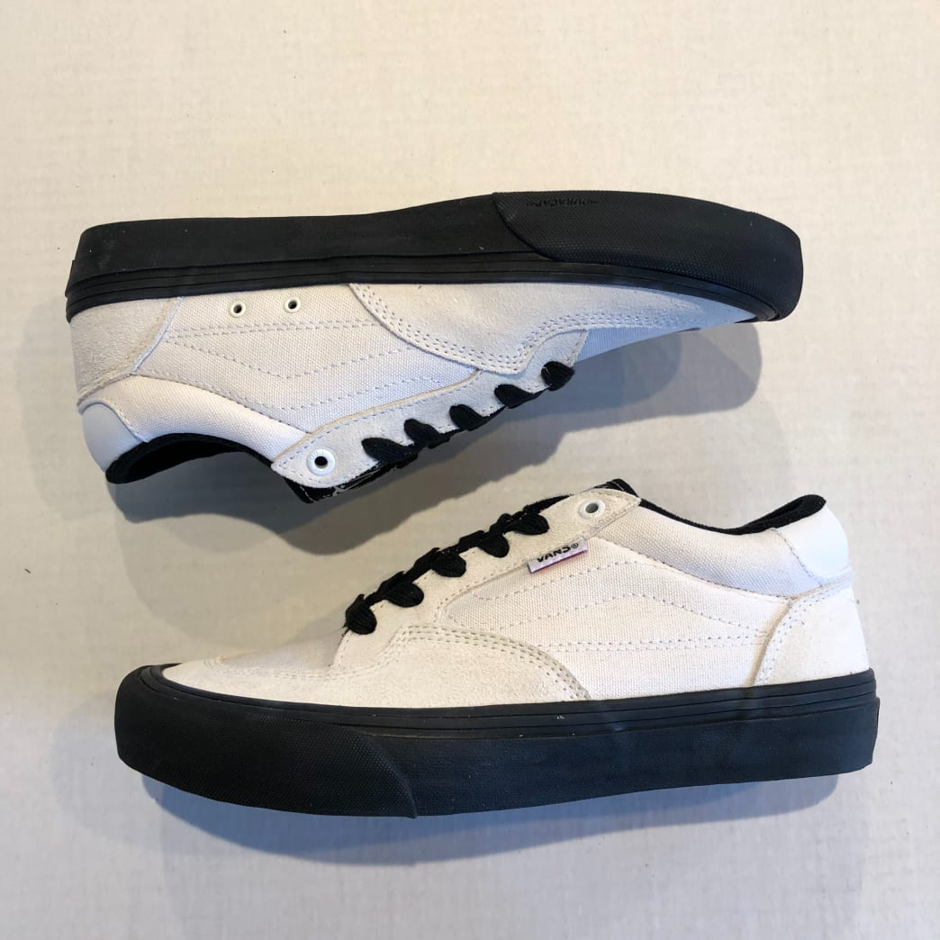 Vans Rowan Pro Shoes - White / Black | Shoes by Vans 4