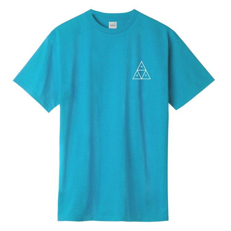 HUF Mirage Triple Triangle S/S T-Shirt Turquoise | T-Shirt by HUF 2