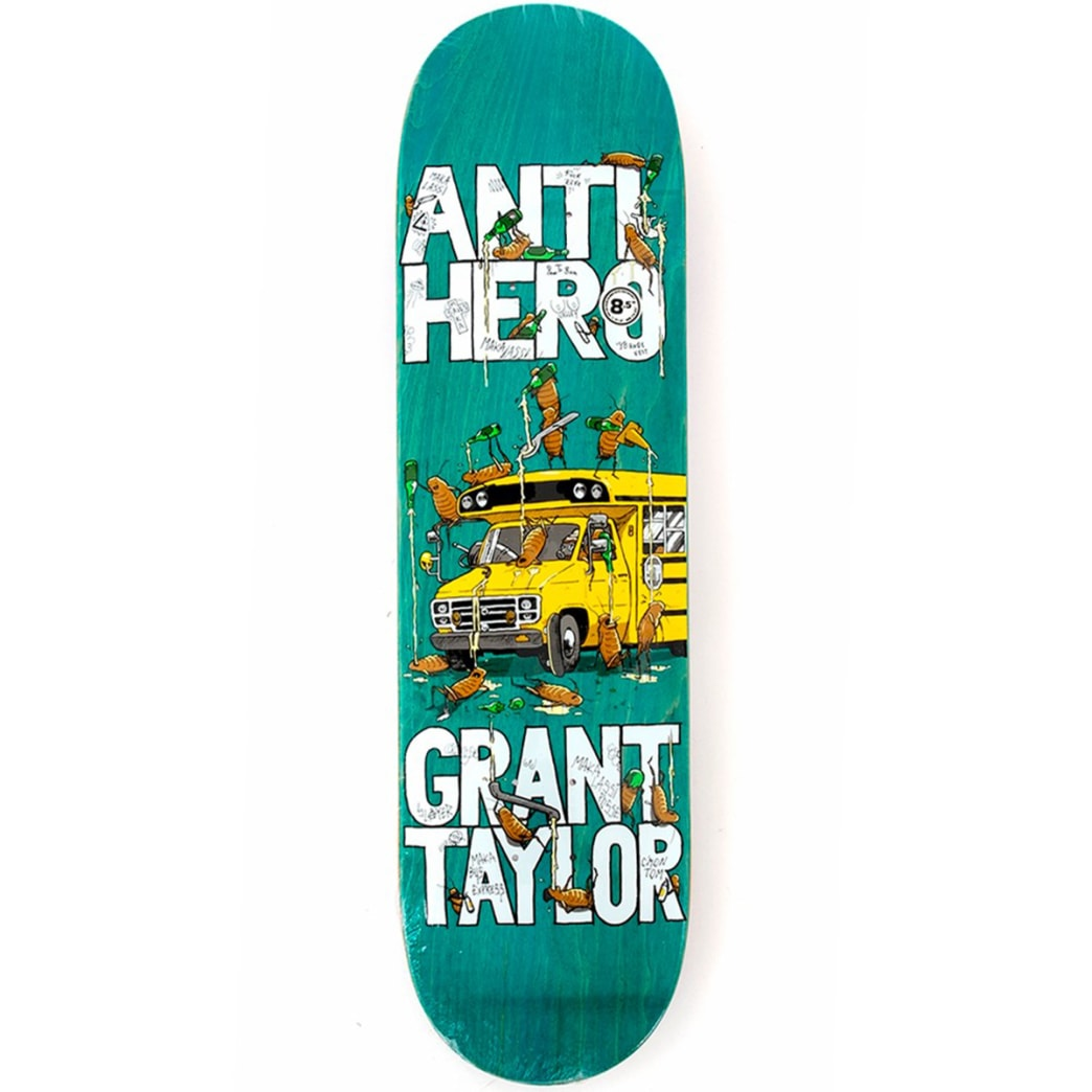 Antihero Grant Maka Bus Deck 8.5 | Deck by Antihero Skateboards 1