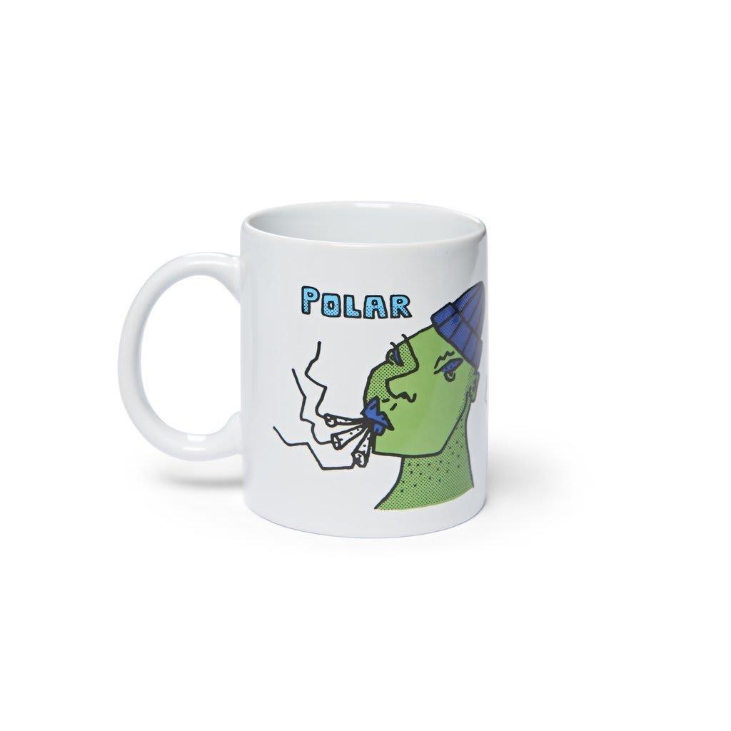 Polar Skate Co Coffee Mug - Smoking Heads   Mug by Polar Skate Co 1