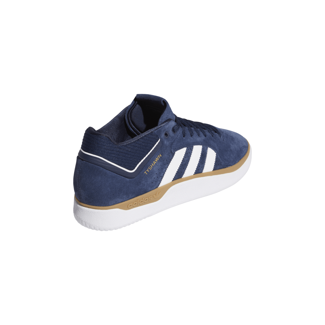 adidas Tyshawn Jones Skate Shoes - Collegiate Navy / FTWR White / Gum 4 | Shoes by adidas Skateboarding 6