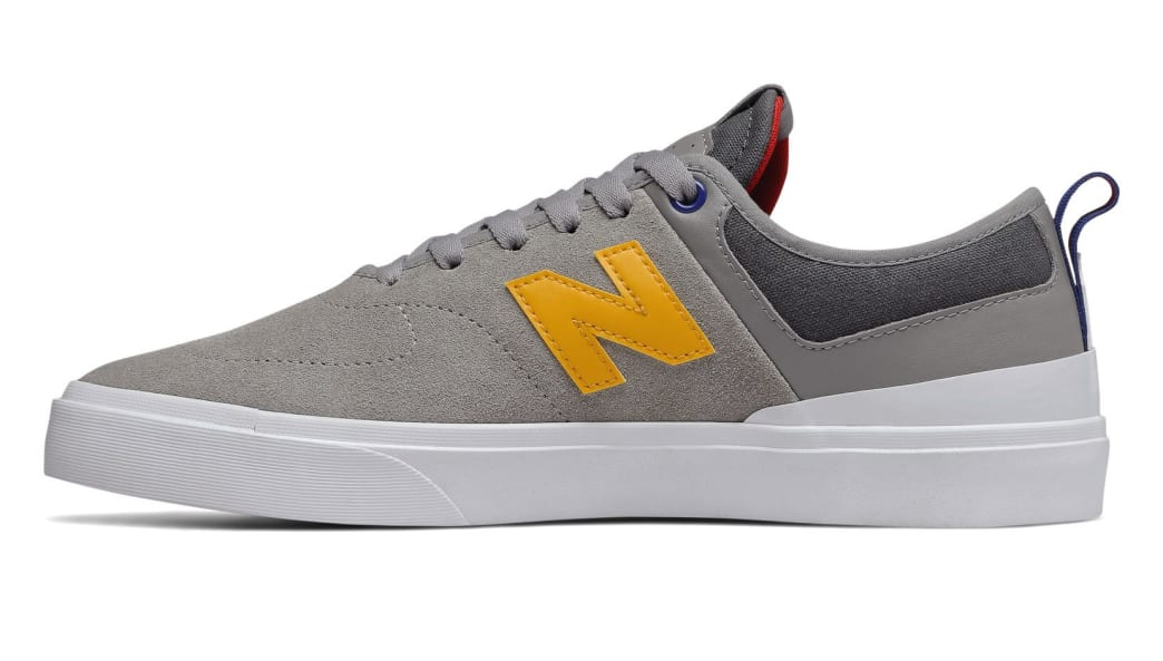 New Balance Numeric 379 Skate Shoe - Grey / Red / Blue   Shoes by New Balance 2
