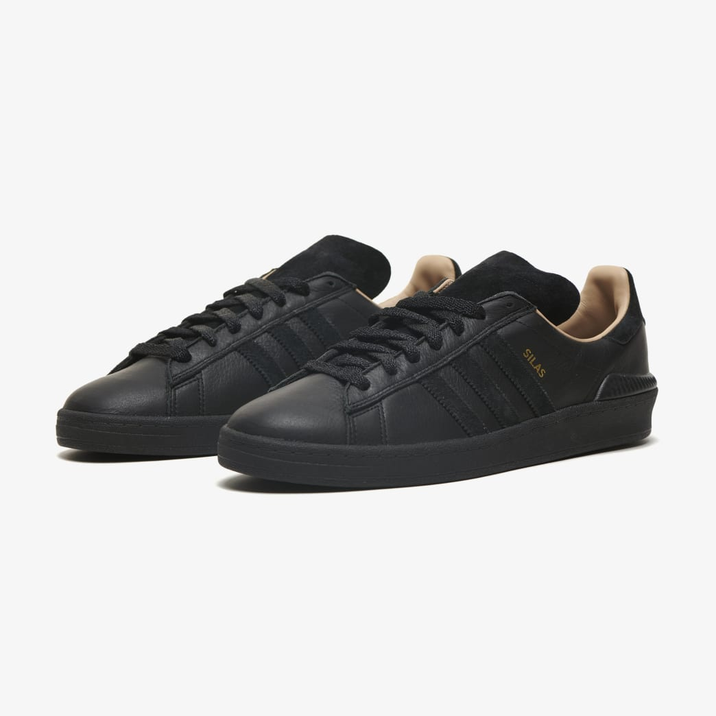 adidas Campus ADV Silas Baxter-Neal Skateboarding Shoe - Core Black/Core Black/St Pale Nude | Shoes by adidas Skateboarding 4