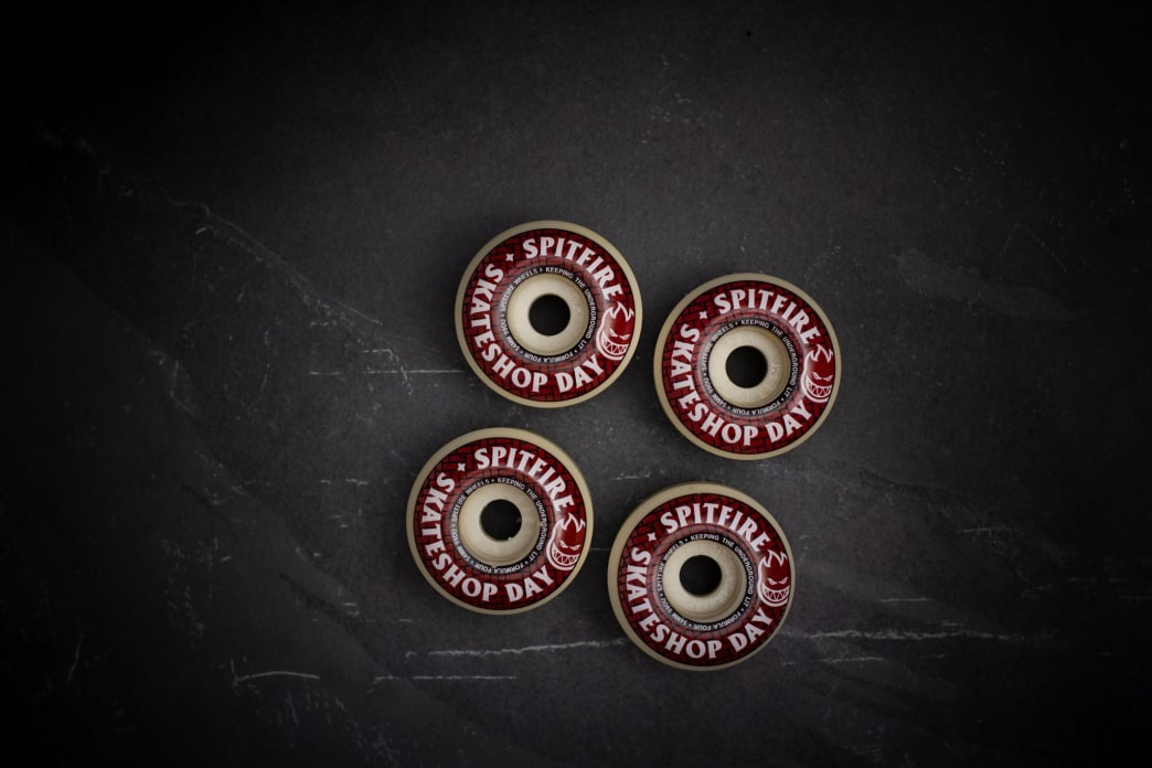 Spitfire Formula Four Classic Skateshop Day Wheels - 52mm | Wheels by Spitfire Wheels 3