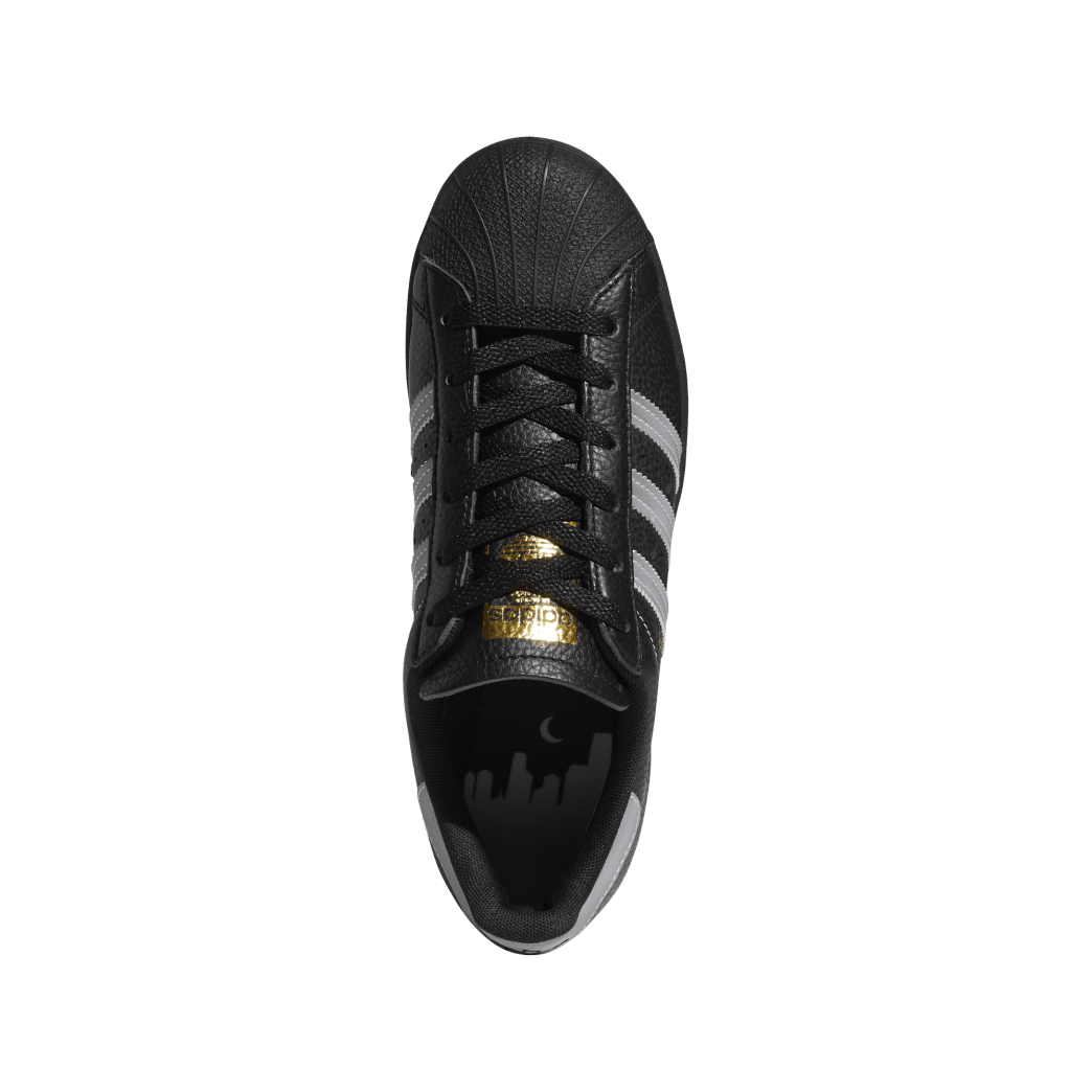 adidas Superstar ADV x Soto Skate Shoe - Core Black / Silver Met / Gold Met | Shoes by adidas Skateboarding 2