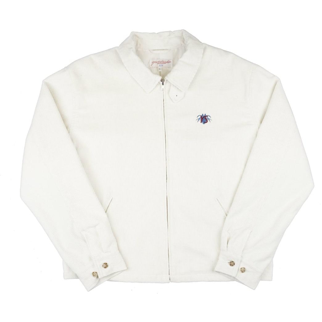 Yardsale YS Spider Corduroy Jacket - White | Jacket by Yardsale 1
