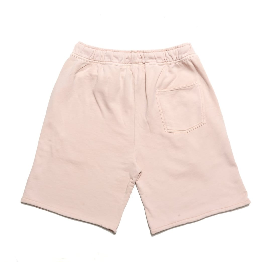 Chrystie NYC Garment Dye Classic Logo French Terry Sweat Shorts - Pale Pink   Shorts by Chrystie NYC 2