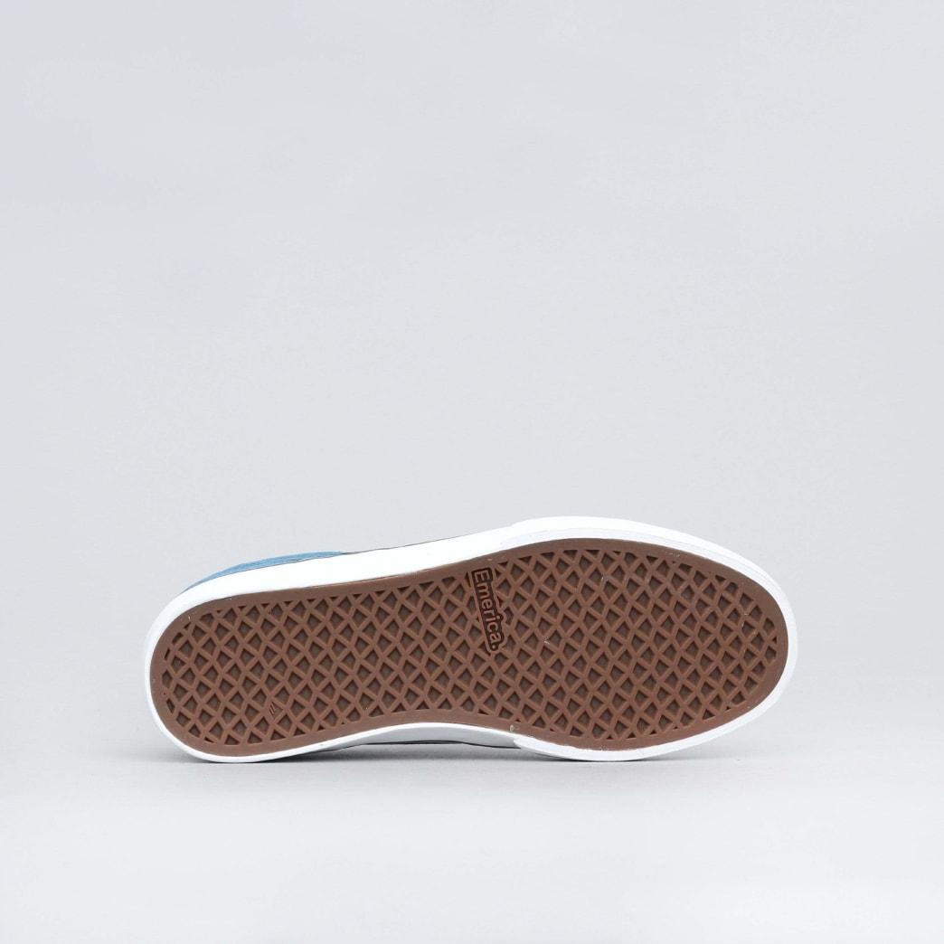 Emerica The Reynolds Low Vulc Shoes (Kids) - Blue / Black / White | Shoes by Emerica 2