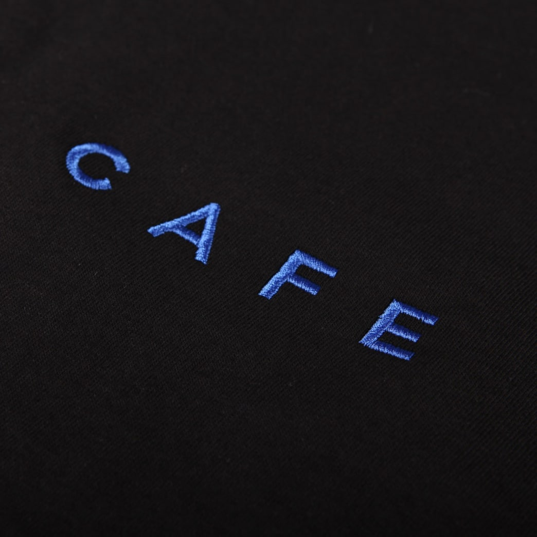 Skateboard Cafe 'Embroidered' T-Shirt (Black) | T-Shirt by Skateboard Cafe 2