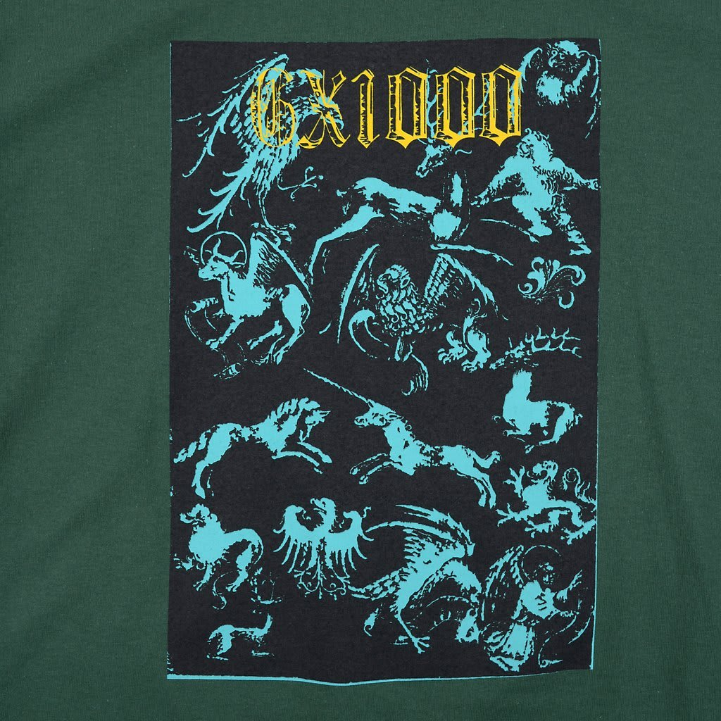 GX1000 Forced Entry T-Shirt - Forest Green | T-Shirt by GX1000 3
