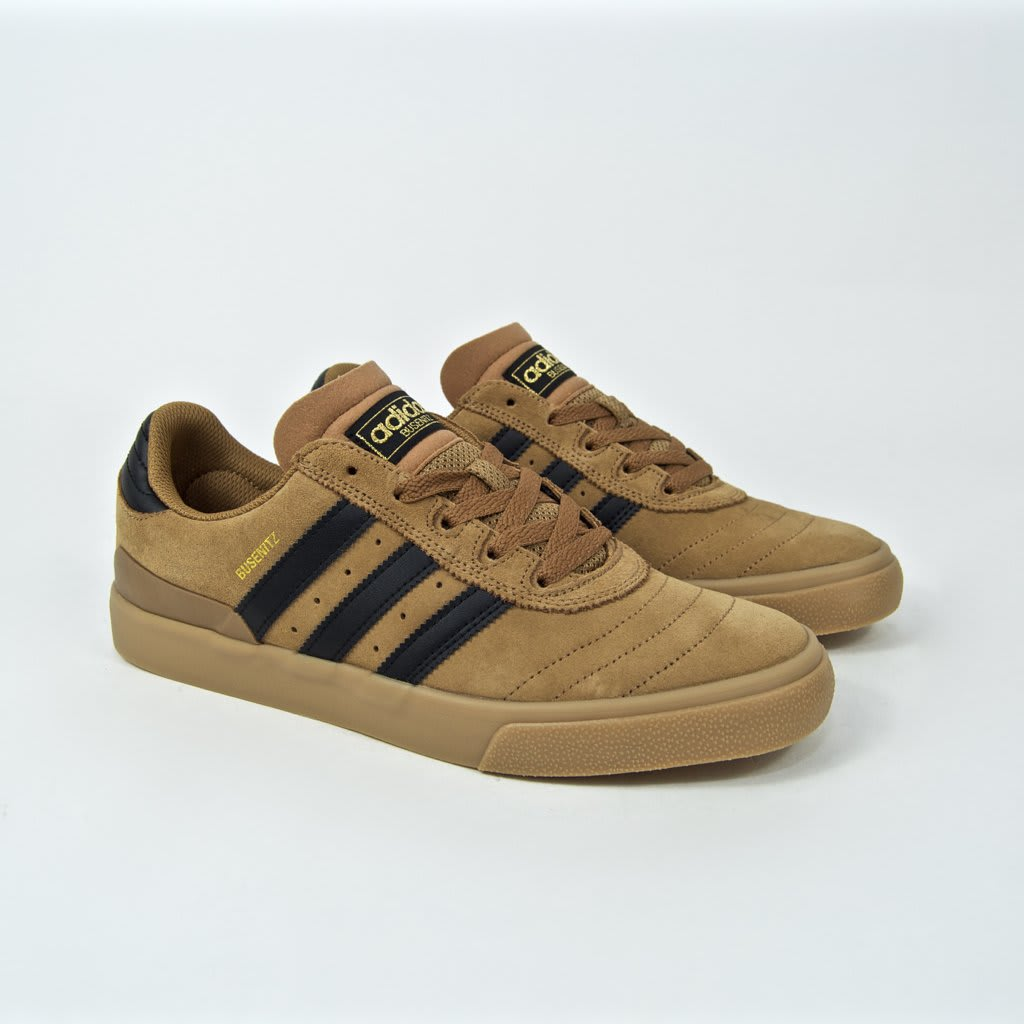 Adidas Skateboarding - Busenitz Vulc Shoes - Raw Desert / Core Black / Gum | Shoes by adidas Skateboarding 1