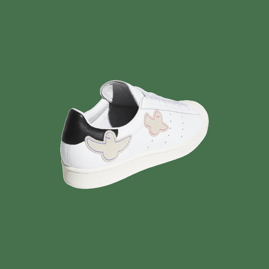 adidas Superstar ADV x Gonz Skate Shoes - Cloud White / Core Black / Chalk White | Shoes by adidas Skateboarding 6