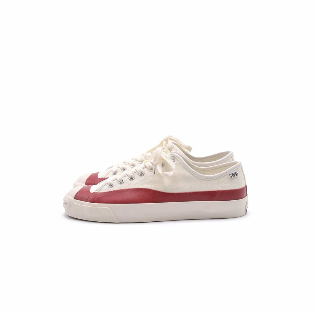 Converse Pop Trading Jack Purcell Pro Ox - Egret / Red Dahlia | Shoes by Converse Cons 1