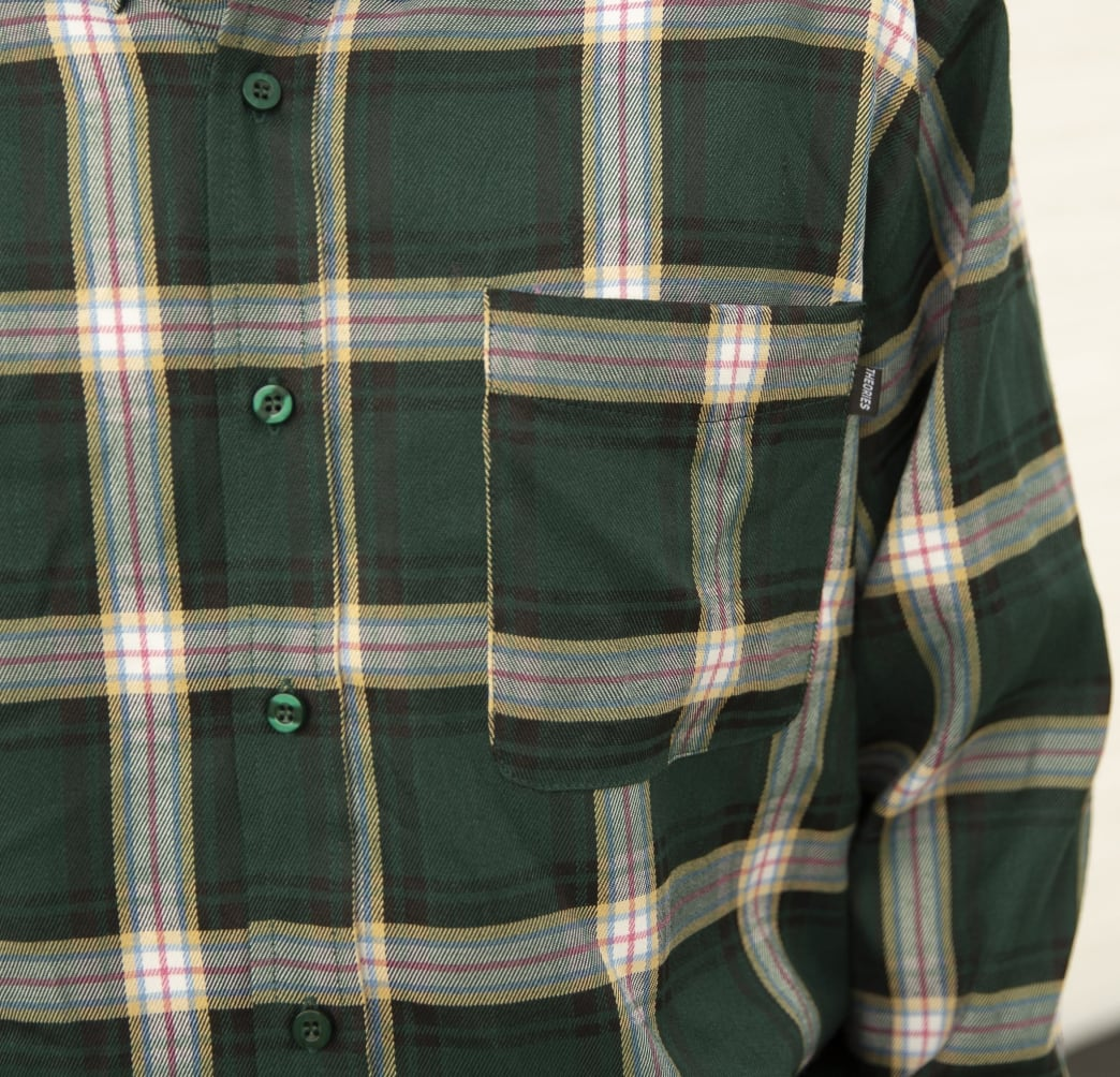 Theories Brand- Tartan Flannel Forest | Shirt by Theories of Atlantis 2