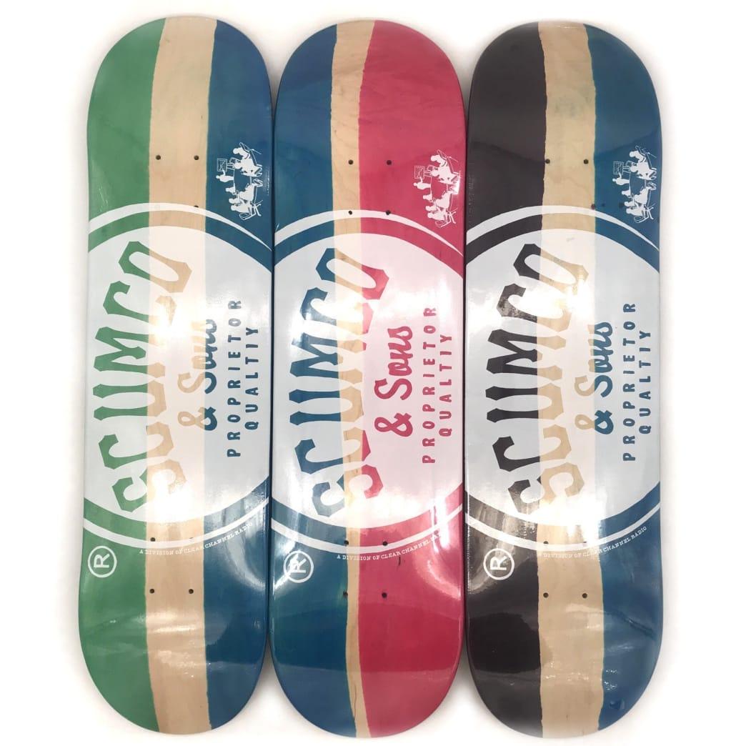 "Scumco Logoboard Deck 8.5""   Deck by Scumco Skateboards 1"
