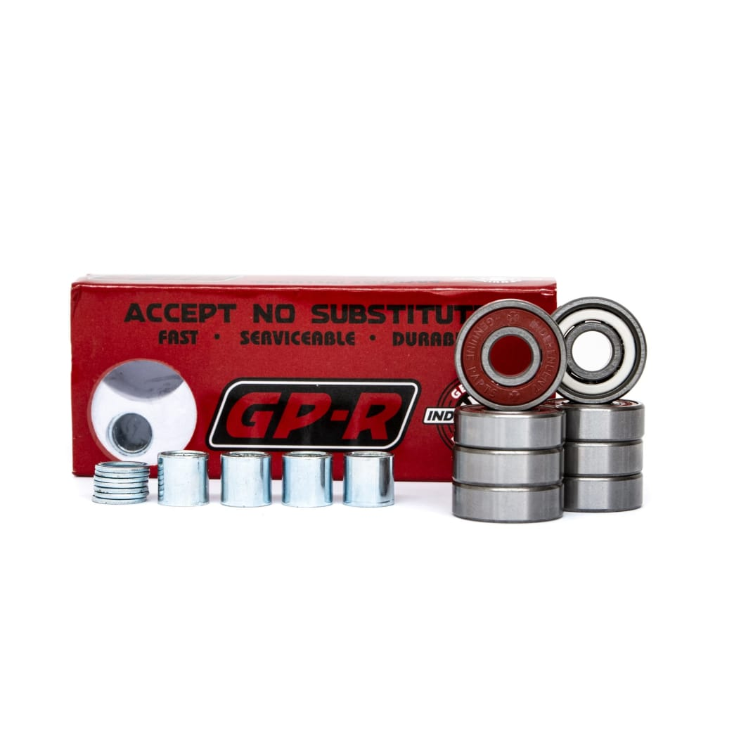 Independent GP-R Skateboard Bearings 8 Pack   Bearings by Independent Trucks 1