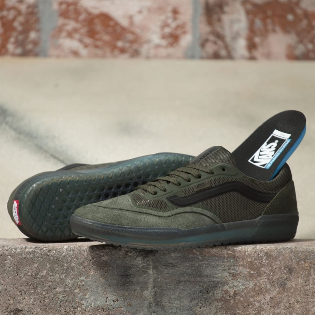 Vans AVE Pro Rainy Day Skate Shoes - Forest Night / Black | Shoes by Vans 2