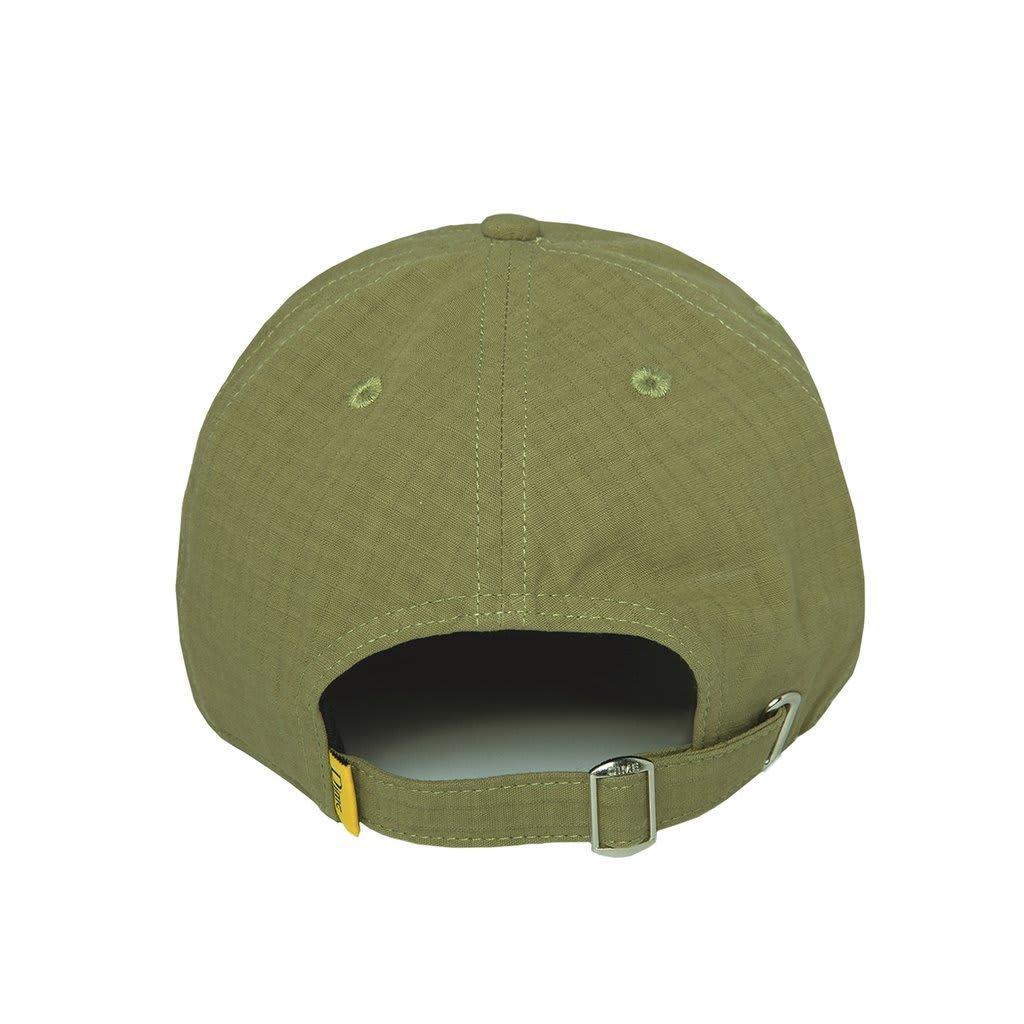 Dime Classic Logo Hat - Military Green | Baseball Cap by Dime MTL 3