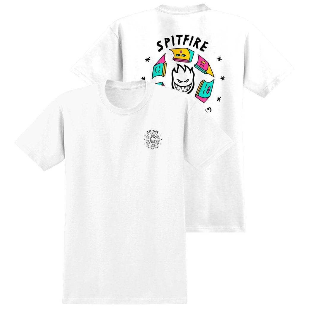 Spitfire X Skate Like A Girl Fill T-Shirt | T-Shirt by Spitfire Wheels 1