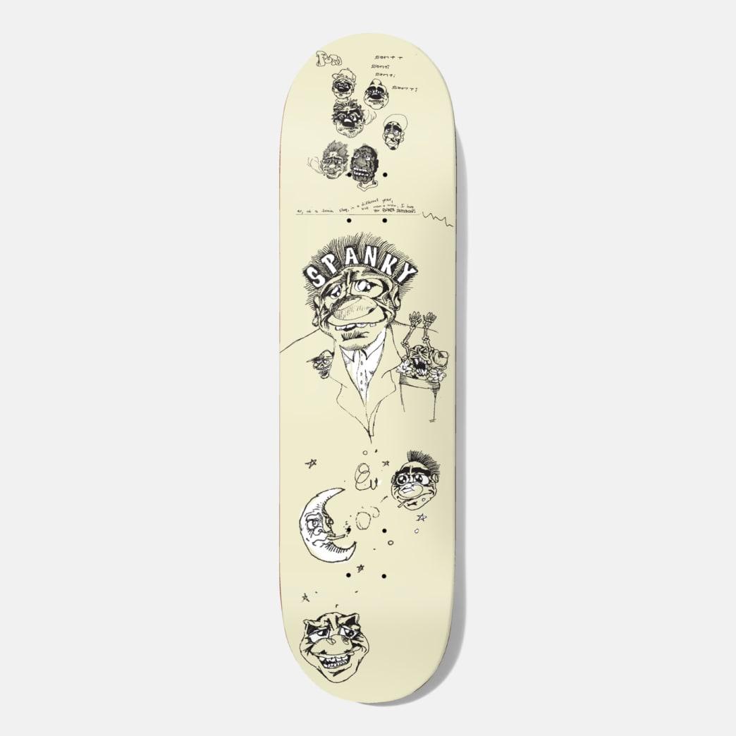 Baker Skateboards Kevin Spanky Long Santino Skateboard Deck - 8.00   Deck by Baker Skateboards 1