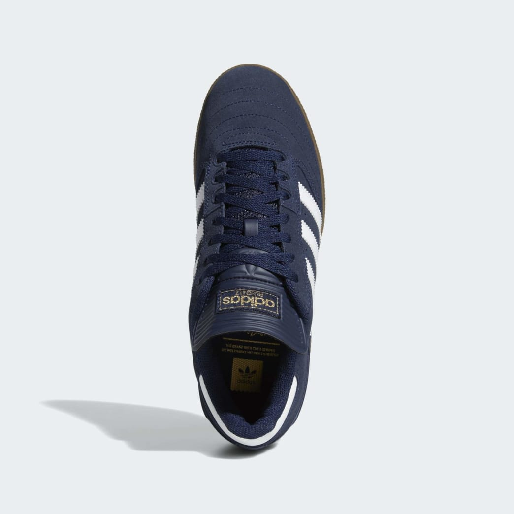 Adidas Busenitz Shoes - Collegiate Navy/Cloud White/Gum 5 | Shoes by adidas Skateboarding 2