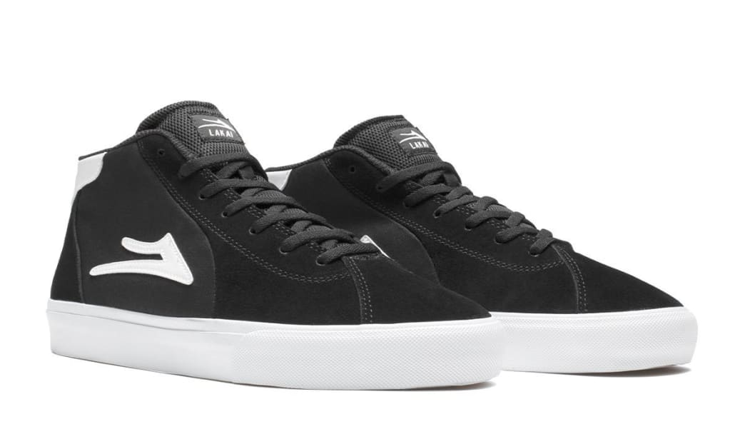 Lakai - Flaco II Mid (Black/White) | Shoes by Lakai 2