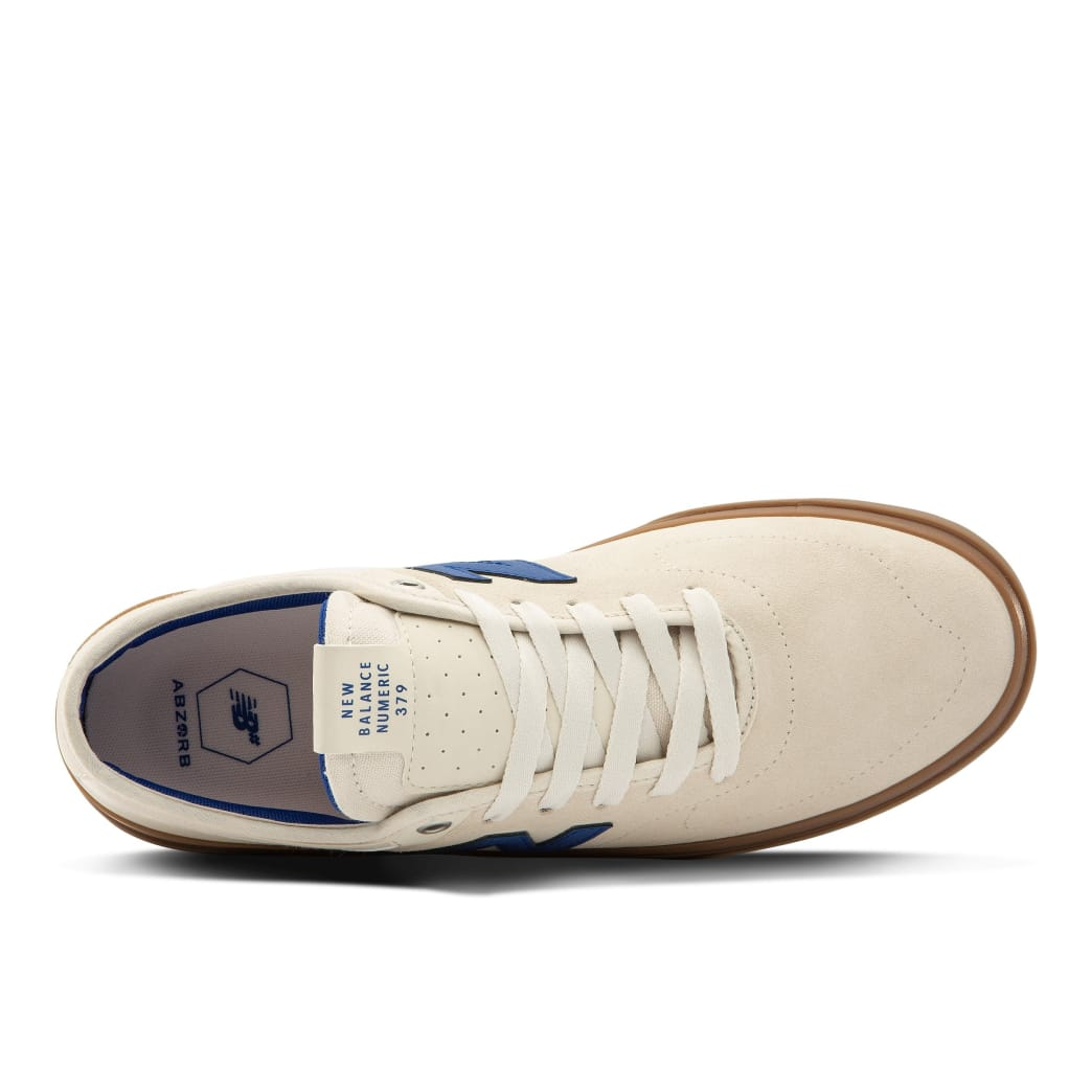 New Balance Numeric 379 Skate Shoe - White / Blue | Shoes by New Balance 3