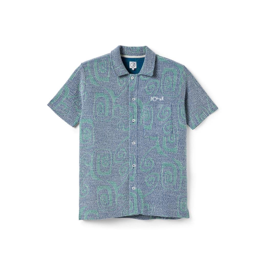 Polar Skate Co Patterned Shirt - Blue | Shirt by Polar Skate Co 1