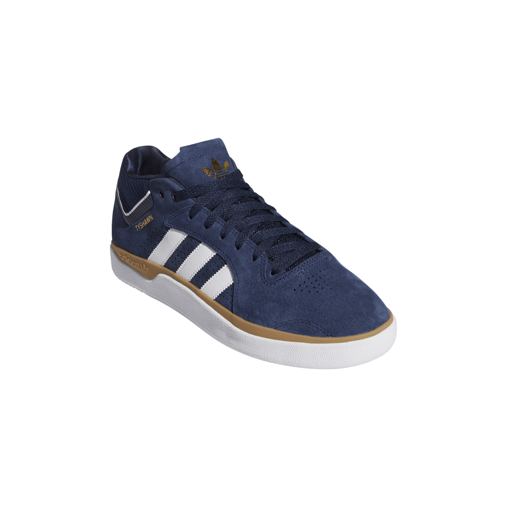 adidas Tyshawn Jones Skate Shoes - Collegiate Navy / FTWR White / Gum 4 | Shoes by adidas Skateboarding 5