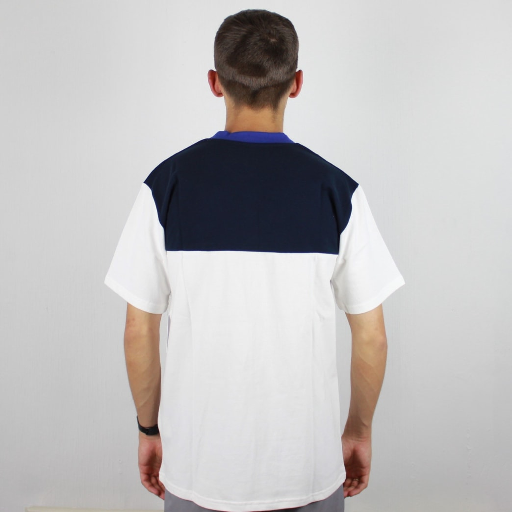 Quasi Pique Mid Weight T-Shirt Royal Blue/Navy/White | T-Shirt by Quasi Skateboards 3