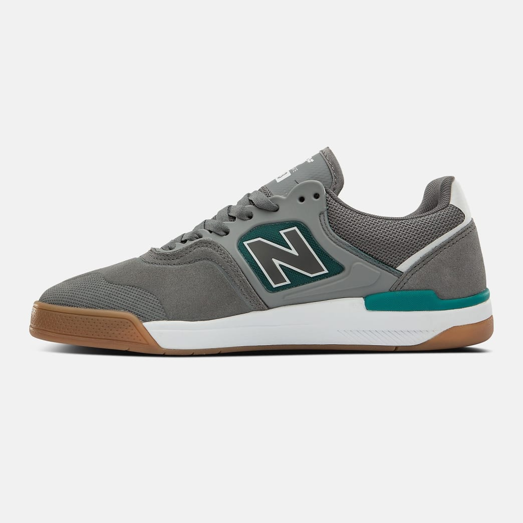 New Balance Numeric 913 Shoes - Castlerock / White   Shoes by New Balance 3