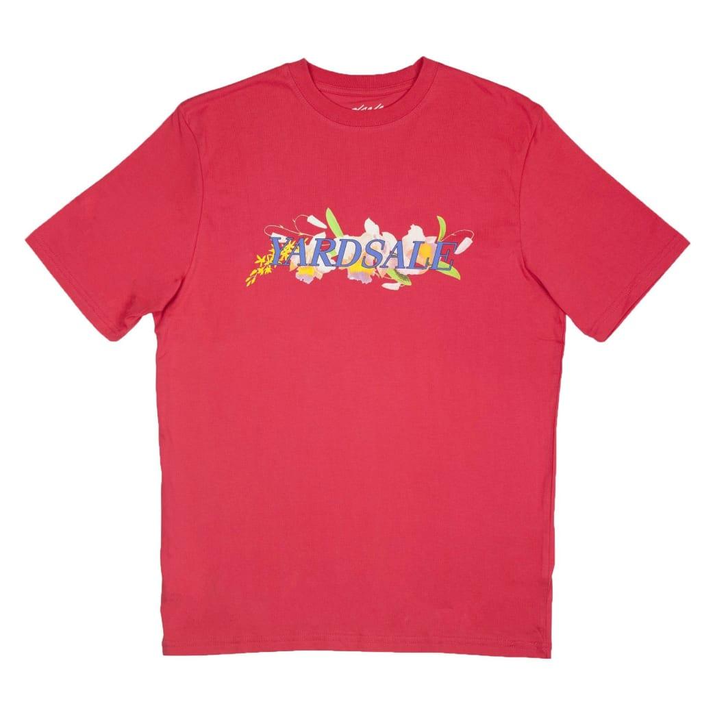 Yardsale Floral T-Shirt - Washed Pink   T-Shirt by Yardsale 1